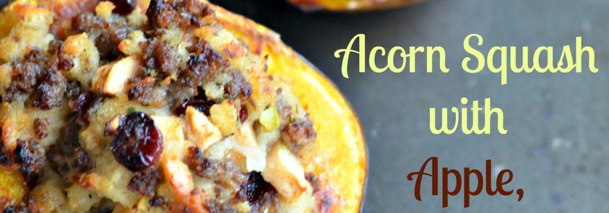acorn-squash-apple-cranberry-sausage-stuffing