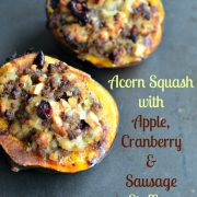 acorn-squash-apple-cranberry-sausage-stuffing