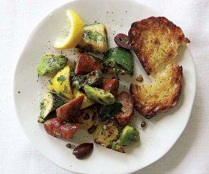 grilled-sausage-summer-squash-piemonte