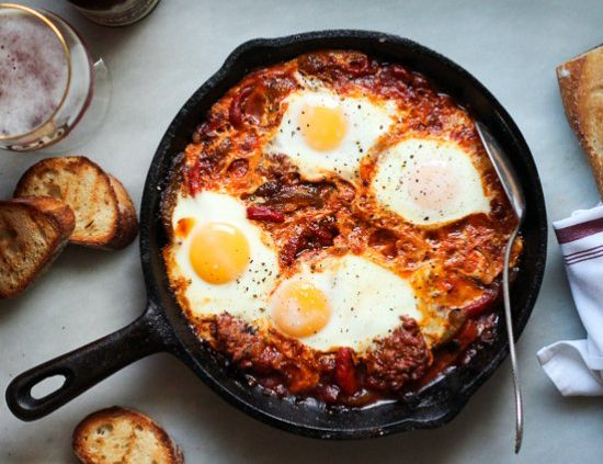 Merguez-sausage-and-eggs-piemonte