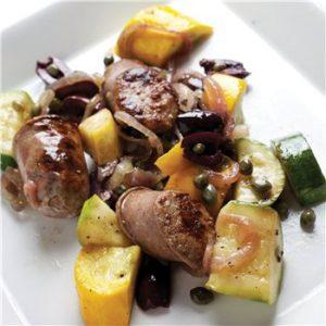 Sausage-Piemonte-Summer-Squash-Dinner