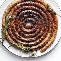 Grilled-Lugneca-sausage-coil-Piemonte
