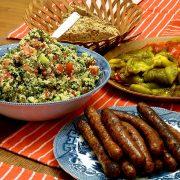 Merguez-Sausage-Piemonte-Dinner